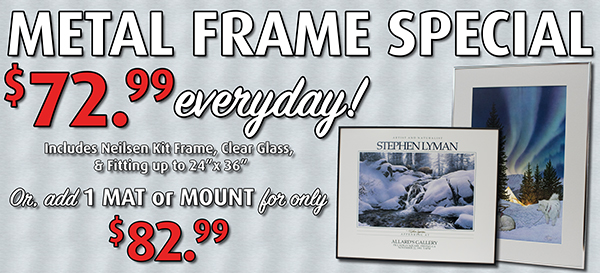 Everyday Discounts - Framing