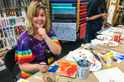 Art Classes and Demos in Fresno